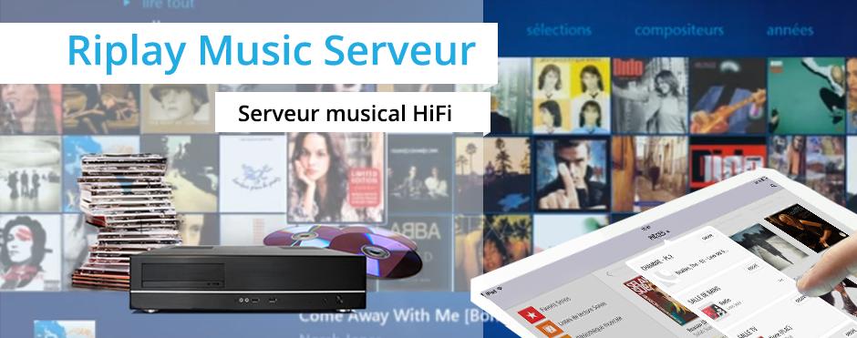 Naviguez dans votre collection musicale stockée dans un jukebox numérique