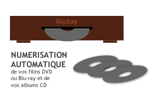 Riplay video - étape 2