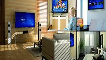 Serveur multimédia pour la diffusion multiroom audio et vidéo