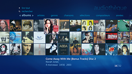 Centraliser votre collection musicale numérique sur un mur de pochettes