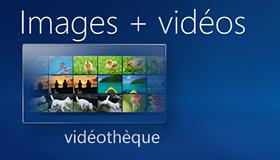 Vidéothèque pour les vidéos personnelles et autres