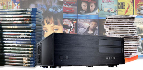 Serveur audio vidéo pour gestion de filmothèqu et CDthèque