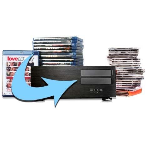 Sauvegarde et rip de film dvd et blu-ray sur un serveur multiroom audio et vidéo
