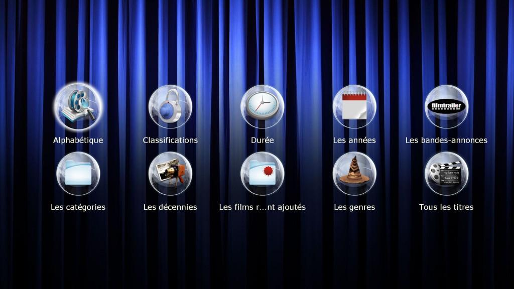 Filmothèque sur lecteur Dune - Blu-ray, DVD, Divx, MKV