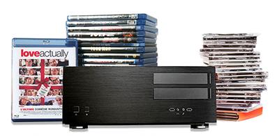 Achetez un serveurs Dipiom Media si vous avez une grande collection de DVD et Blu-Ray à dématérialiser