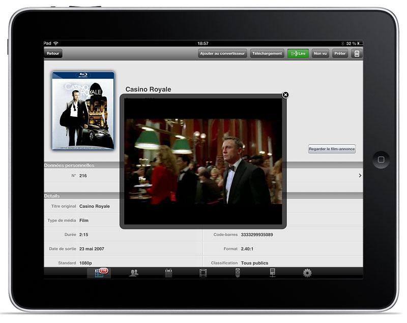 Convertissez et télécharger vos films en HD pour iPad