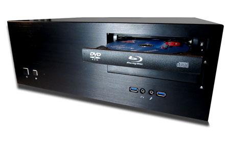 Lecture de disque CD, DVD, Blu-ray pour une sauvegarde 100% automatique de films et musiques
