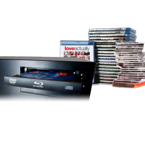 Serveur de films - Rip disque CD, DVD, BR automatique