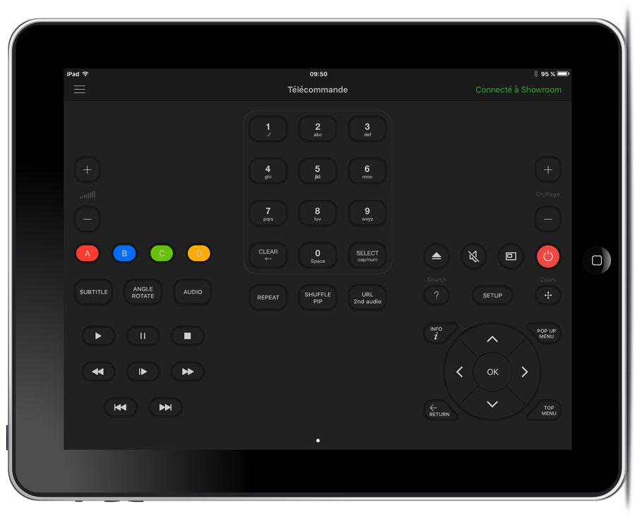 iPad télécommande universelle wifi