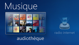 Media Center : musique numérique