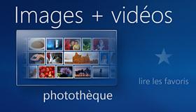 Media Center - la photothèque numérique