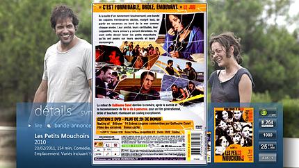 Toutes les informations avec le dos des DVD ou Blu-ray