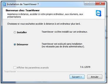 installer Teamviewer