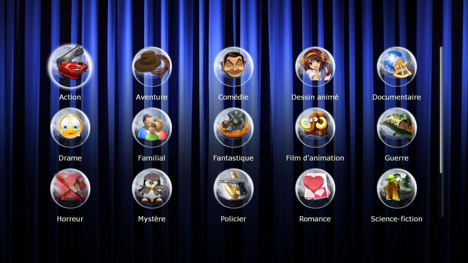 Classement automatique de votre collection de films blu-ray, dvd, mkv, divx sur votre écran TV