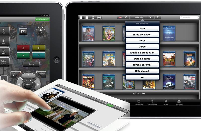 Toute votre filmothèque sur votre iPad ou votre tablette Android