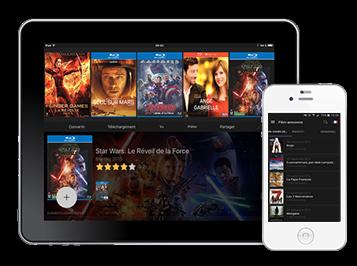 Votre filmothèque et audiothèque dématérialisée et pilotable depuis votre iPad ou votre IPhone
